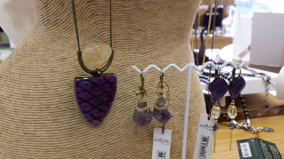 collana e orecchini naturebijoux