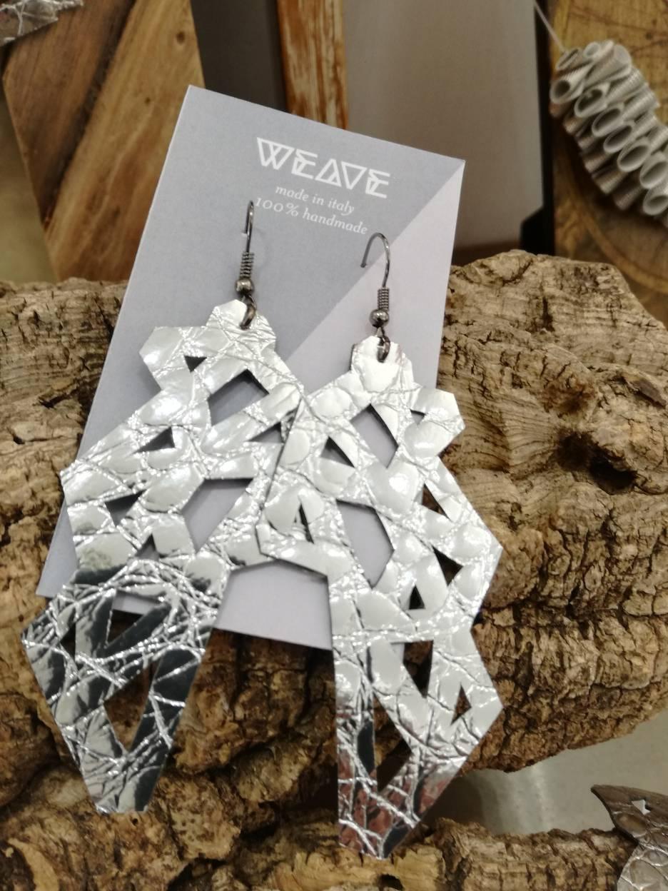 orecchini weave