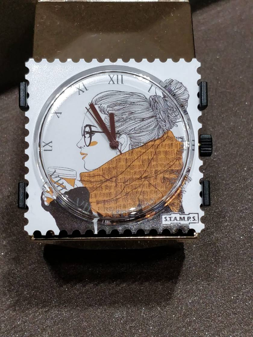 orologio stamps